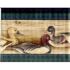 Black Ducks Wallpaper Border