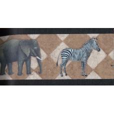 Black Safari Wallpaper Border
