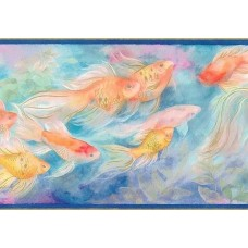 Blue Under The Sea SI37101B Wallpaper Border