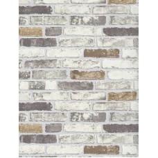 Beige Brick Wallpaper