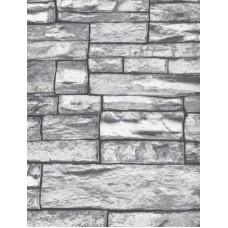 Grey Brick Wallpaper